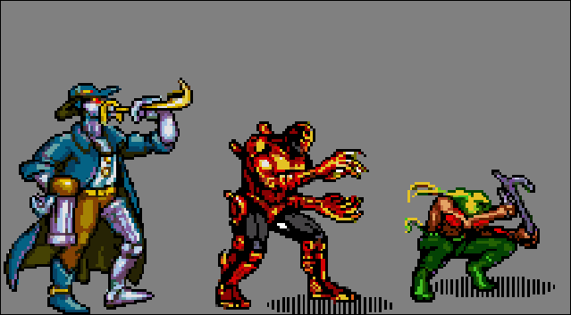 Comix Zone - Characters Sprites