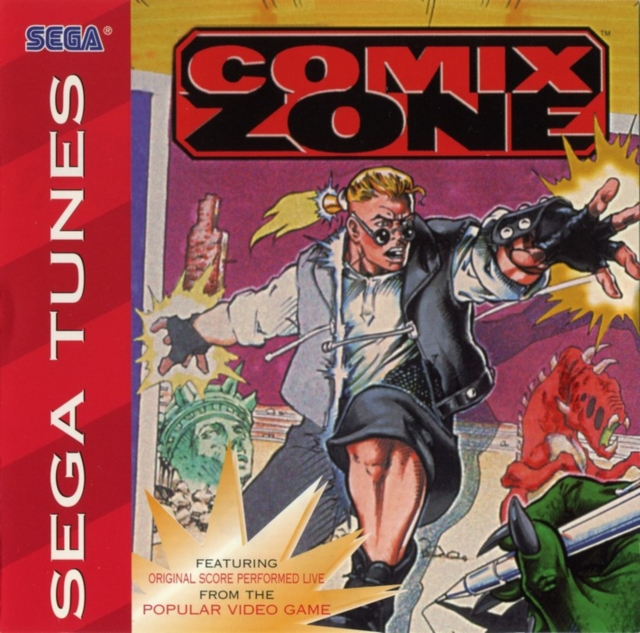 Sega Tunes - Comix Zone ( 1996 ) ( Eac m4a scans )