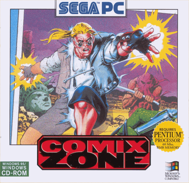 Comix Zone - PC ( Windows 95 )