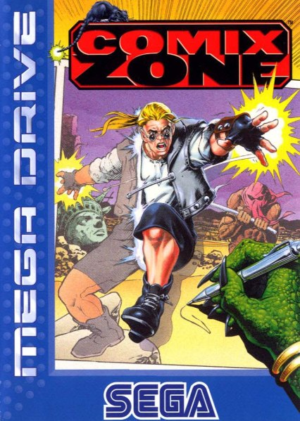 Comix Zone - Sega Genesis Collection