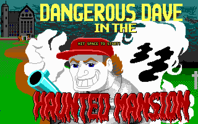 HTML5 Replica of Dangerous Dave In The Haunted Mansion