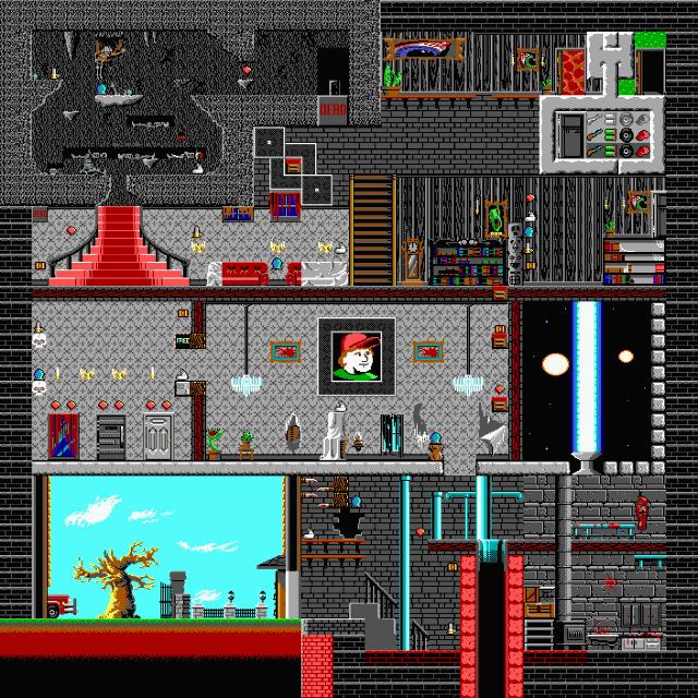 Full screenshots of the levels for