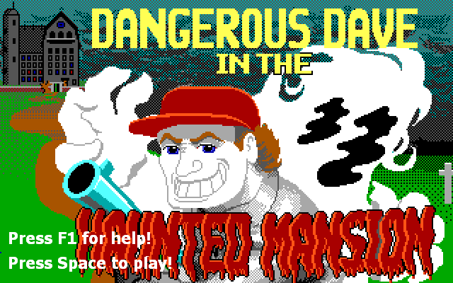 Dangerous Dave in the Haunted Mansion – Remake ( Yo-Yo Games )