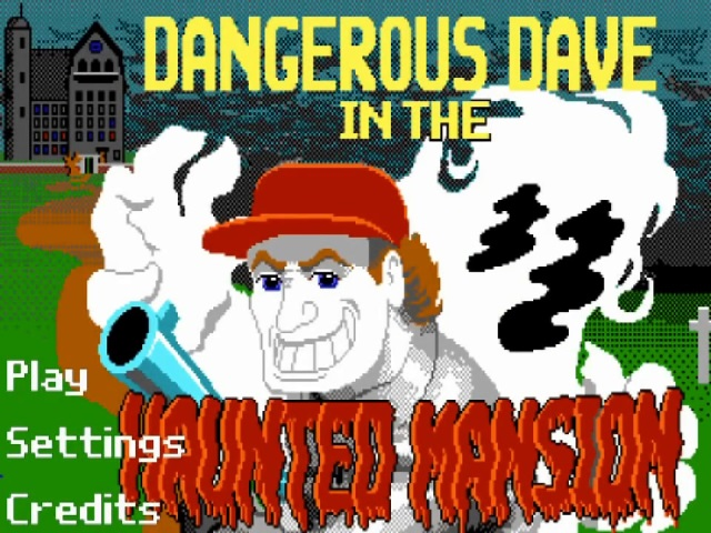 Dangerous Dave in the Haunted Mansion for Android ( Anothher version )