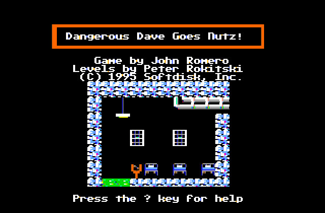 Dangerous Dave Goes Nutz! ( Apple II )