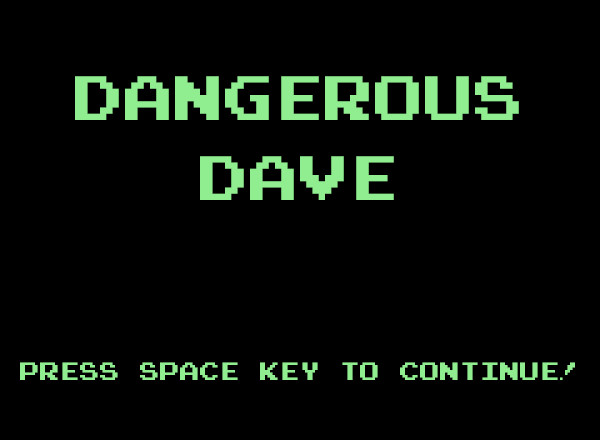 Dangerous Dave made with Vanilla JS