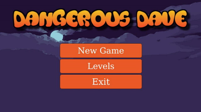 Retro Dangerous Dave | Free Arcade Game