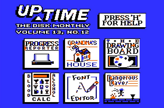 UpTime - The Disk Monthly: VOL 13, No.12 ( Apple II )